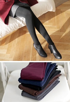 Mild Raising the dead of winter to wear tights <br>