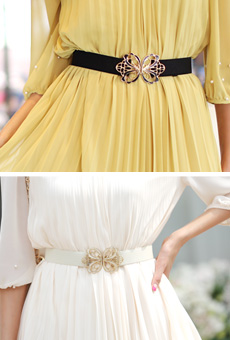 Crown motif banding belt (sizing) <br>