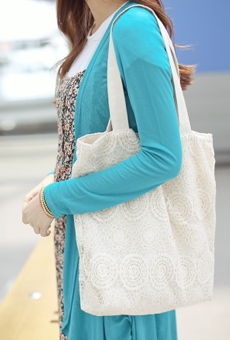 Lace Eco Bag <br>