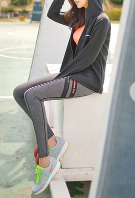 Chic Double Line cationic 9Part Leggings <br>