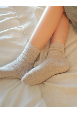 Warmth is the best! Angora socks <br>