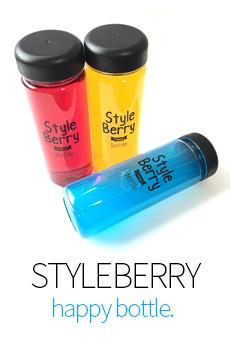 Happy Berry-style bottle