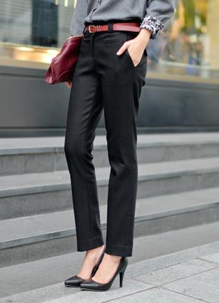 Pitt's Raising Slim Suits Pants <br> <B>(S ~ L)</b> <br> <FONT color=#980000>◆ Remaining Quantity: Black / L 1 sheet</font> <br>