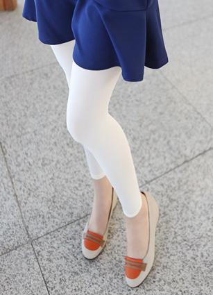 80s Basic 9Part Tights Leggings <br>