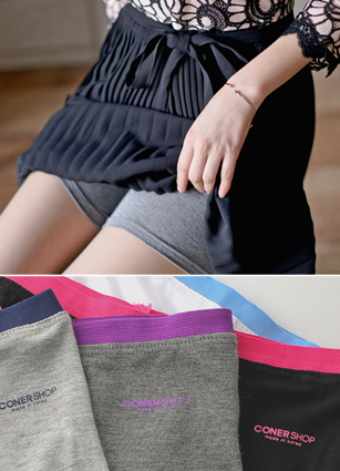 <FONT color=#980000><b>◆ 20% discount for three pieces of sets!</b></font> <br> Seasonal Color Bending 3Part Underpants <br>