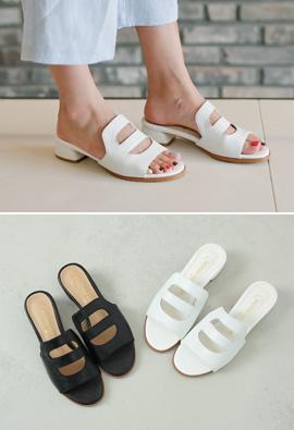 Luxury Line Punching Basic Slippers <br>