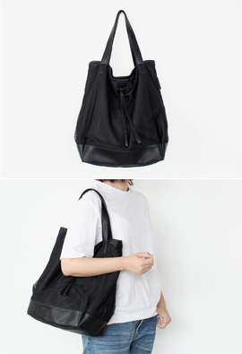 Penny Net Shoulder Bag <br> <FONT color=#980000>◆ Remaining Quantity: Navy 1Piece</font> <br>
