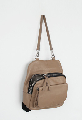 Bayer Leather BackPack [4COLOR] <br>