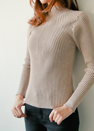 Lovely Wavy Knitting Van Paul Golgi Knit <br> [Review 64Piece]
