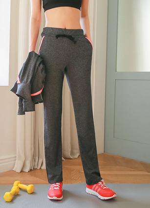 Lightweight Neon Color String Pants Pants <br>