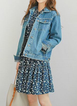 The Original Free pit Denim Jacket <br> <b>Broadcast Sponsorship product</b> <br>