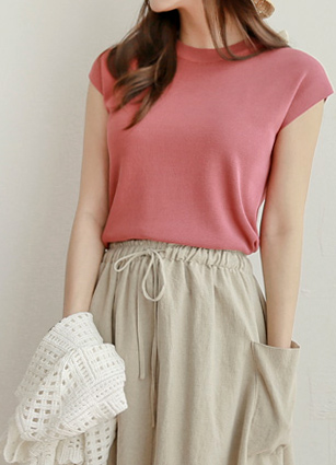 Chic Cap sleeves Cool Summer Knit <br>