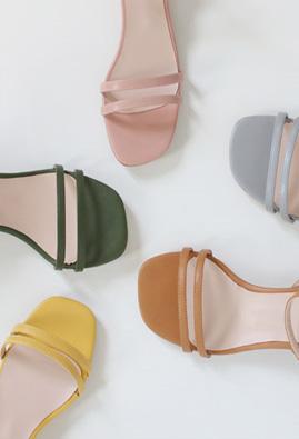 Straphe Low heel Sandals