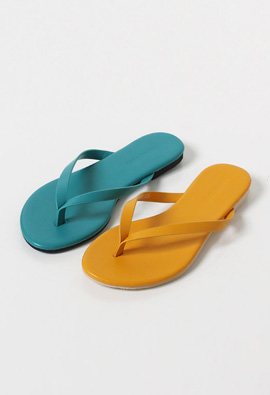 Slim Flip Flop Dark <br> <FONT color=#980000>◆ Left Quantity: Black / 245 1 Pole</font> <br>
