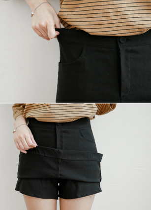 Classic Secret Bending Skirt Pants <br> <B>(S ~ L)</b> <br>