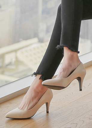 "Basic Stiletto Hill <br> <font color=""#ed1558""><b>[height heel: 7.5cm]</b> <br></font>"