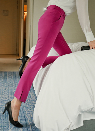 Sensual Color Fit Slacks (280) <br>