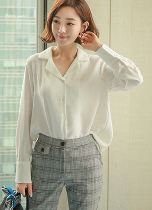 Attractive Simple Kara Blouse <br> <b>(Broadcast sponsorship)</b> <br>