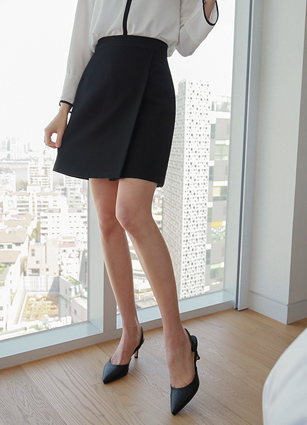 ALine Incision Skirt <br> <B>(S ~ M) / Sponsorship product</b>