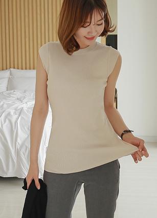 Golgi V-line Cap sleeves Knit <br>