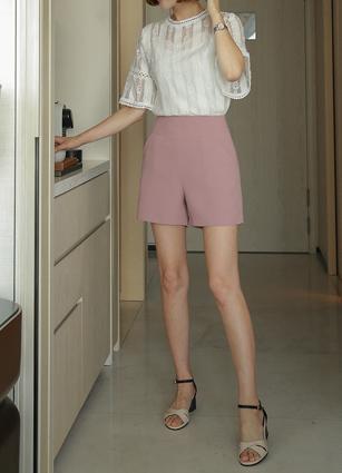 <b>[Review 64Piece]</b> <br> Roni Silhouette Semi- 3Part Pants <B>(S, M, L)</b>