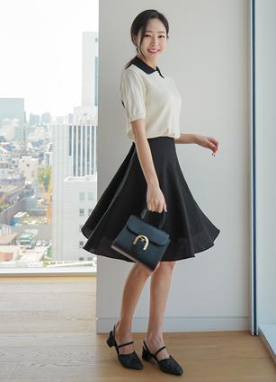 Summer ALine Flare Skirt <B>(S, M, L)</b> <br> (Broadcast sponsorship)