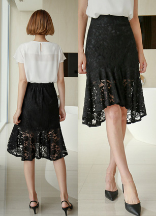 Mermaid Lace Skirt <br> <b>Broadcast Sponsorship product</b> <br>