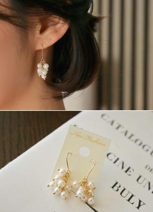 Benny pearl earring <br>