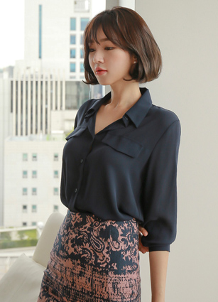 Eight Pocket Chiffon Blouse <br> <b>Broadcast Sponsorship product</b> <br>