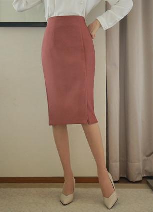 Elluor side slit HLine Skirt <B>(S, M)</b>