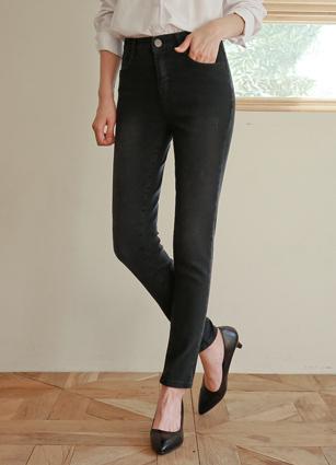 Olive Secret Bending Black Jeans (873) <br> <B>(S to XL)</b>