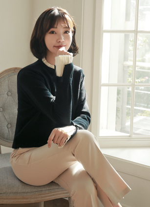 Marilyn Pleat Colored Knit <br> <b>(Broadcast support) (same day dispatch)</b> <br>