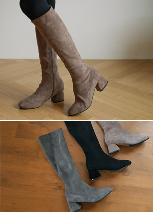 "Wiccan Span Long Boots <font color=""#ed1558""><b>[Heel: 5.5cm]</b> <br></font>"