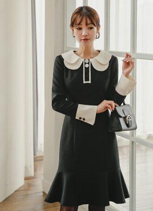 Jurea Dual Kara Mermaid One-piece dress <br> <B>(S ~ L) / Sponsorship product</b> <br>