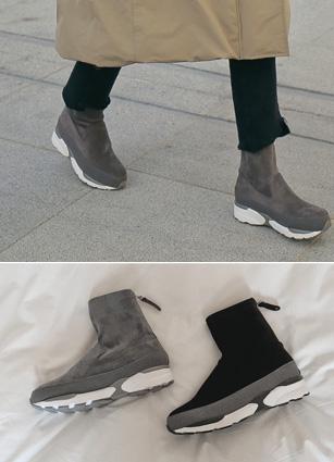 "Floor Span Sneakers <font color=""#ed1558""><b>[Heel: 3cm]</b> <br></font>"