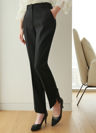 Raising Date Slacks (S, M, L) <br> <FONT color=#980000>◆ Remaining Quantity: 1 Black / S</font> <br>