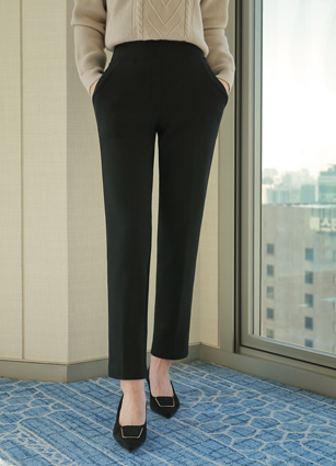 Study Wide Banding Raising Slacks <br> <B>(S to XL)</b>