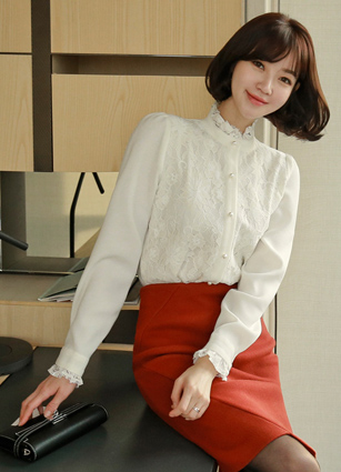 Imperial Lace Blouse <br> <b>(Broadcast sponsorship)</b> <br>