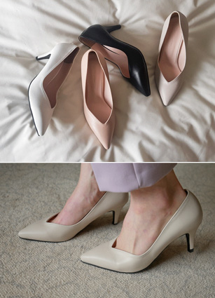 "Current Basic Stiletto Heel <font color=""#ed1558""><b>[Heel: 7cm]</b> <br></font>"
