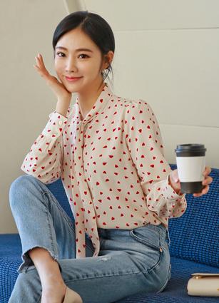 Lovely Heart Thai blouse <br> <b>Broadcast Sponsorship product</b>