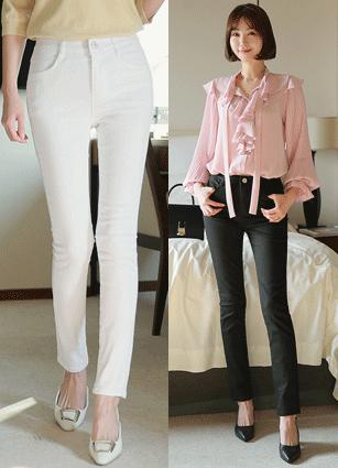 Premium Secret Rock Banding Skinny Pants (121) <br> <B>(S to XL)</b>