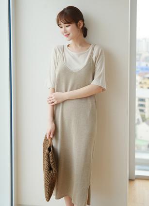 Cerny Bustier Knit One-piece dress
