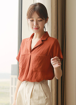 Half-open Kara Blouse