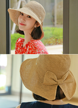 Bucket Rear Ribbon Hat