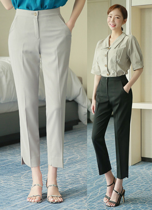 COOL ~ Summer! Secret Bending Eonbal Slacks <B>(SM, L, XL)</b>