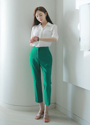 <b><FONT color=#980000>CodySET 10%</font></b> <br> Teresa Wings 5Part Kara Blouse + <br> Mont Blanc Simple Summer Slacks