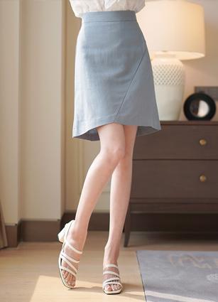 Scotch Eonbal Linen Skirt <B>(S, M)</b>