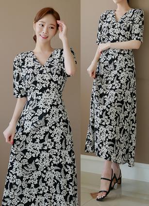 Modernism Long One-piece dress <B>(FREE, L) <br> <FONT color=#980000>LSize alone progress</font></b>