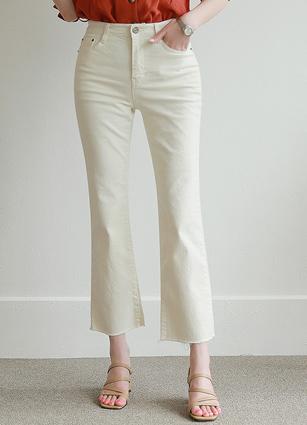Real Cream Boot Cut Pants (352) <B>(SM, L, XL)</b>