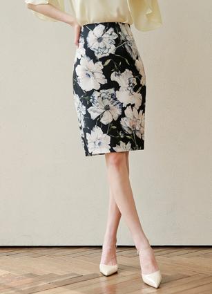 Flower H Skirt (S, M, L)